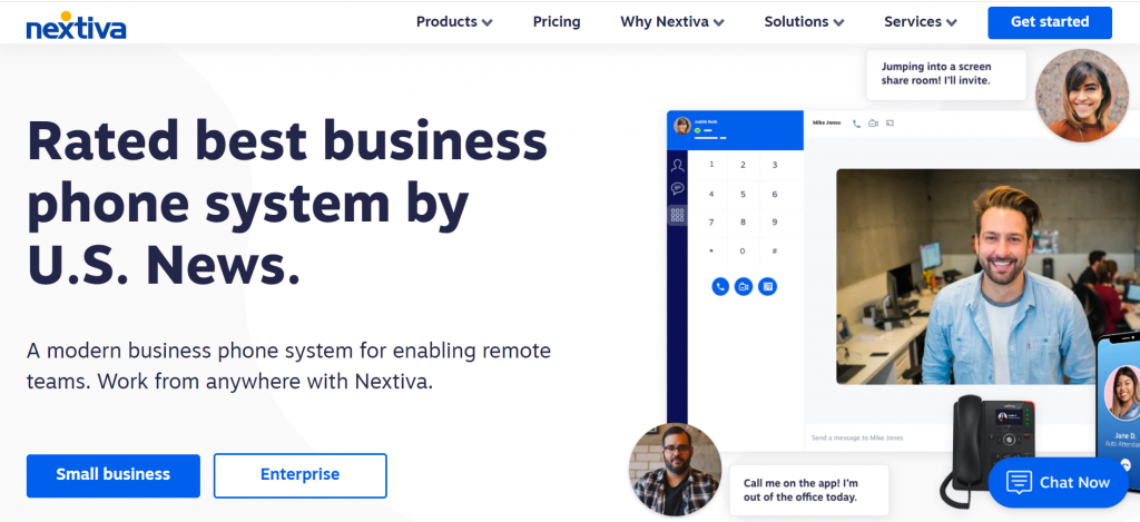 IP Phone System vendor - Nextiva
