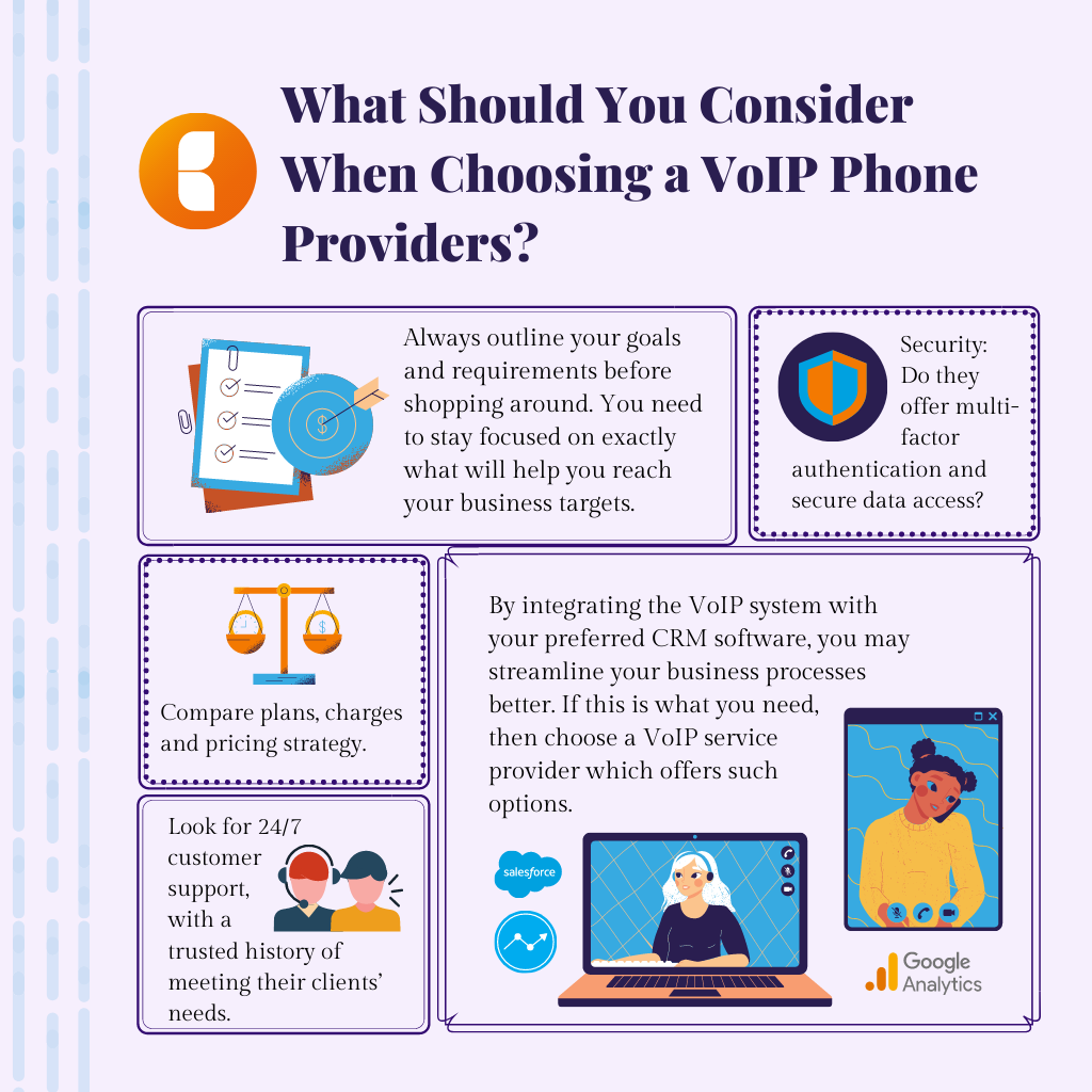 5 things to remember when choosing a VoIP phone providers