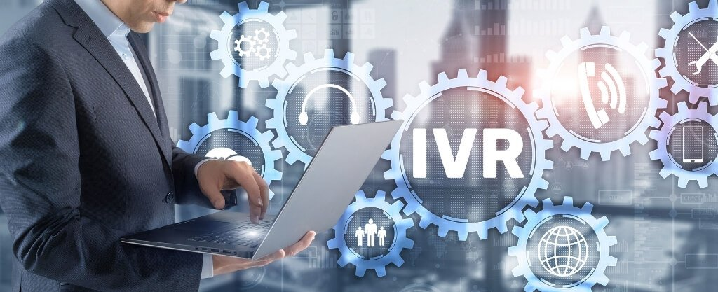 How do automated answering services or IVR work?